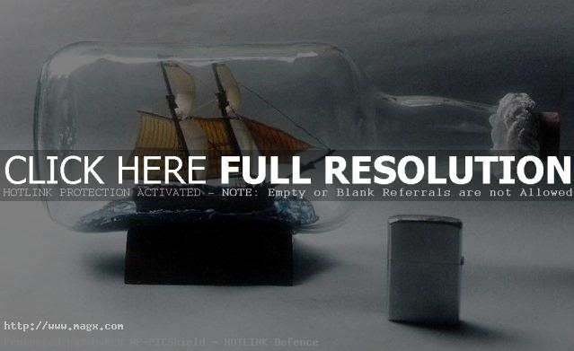ship in bottle6 Fascinating Ships in a Bottle