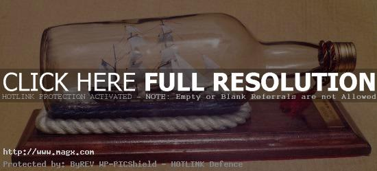 ship in bottle7 Fascinating Ships in a Bottle