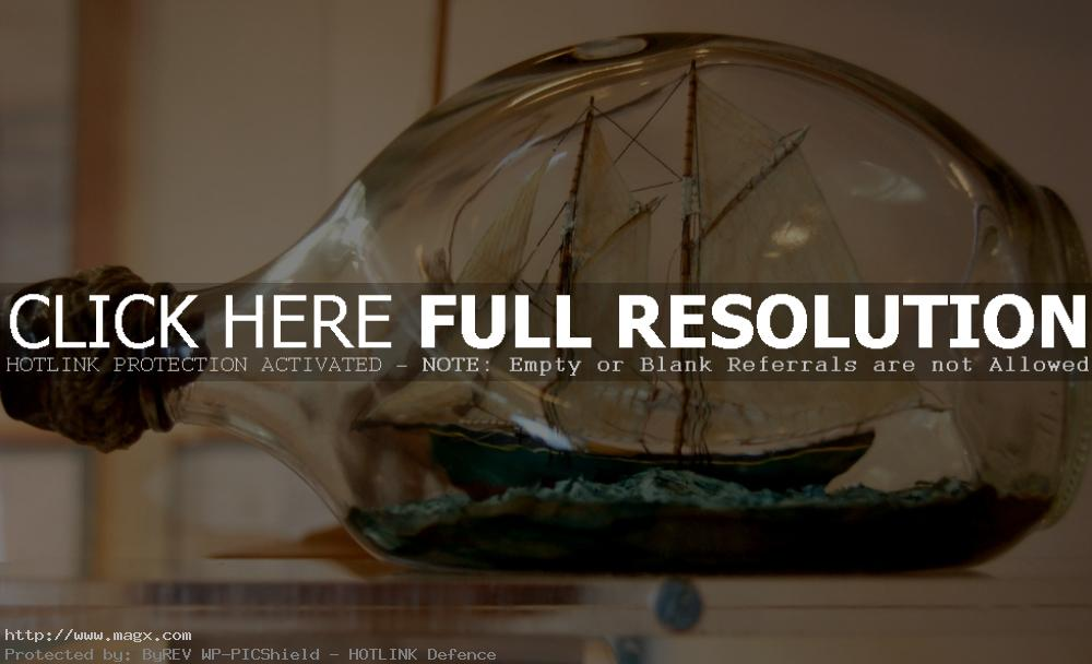 ship in bottle9 Fascinating Ships in a Bottle