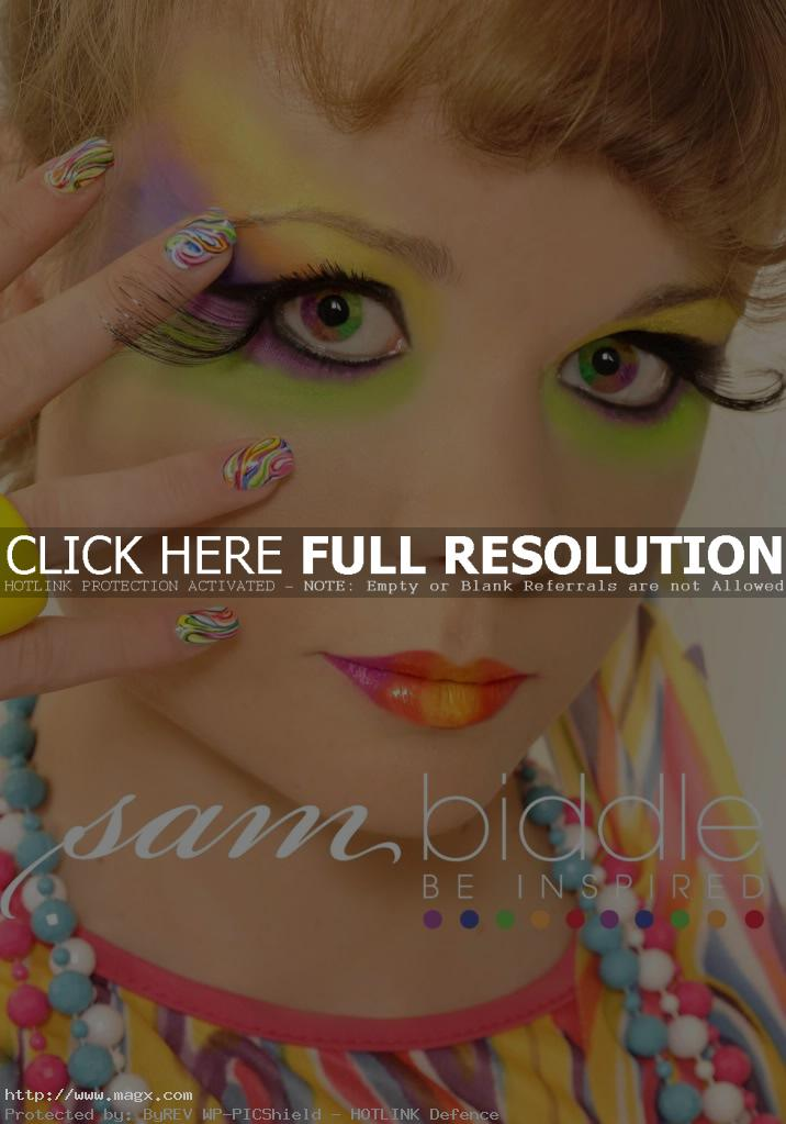 gel nail2 Gel Nails Inspiration by Sam Biddle