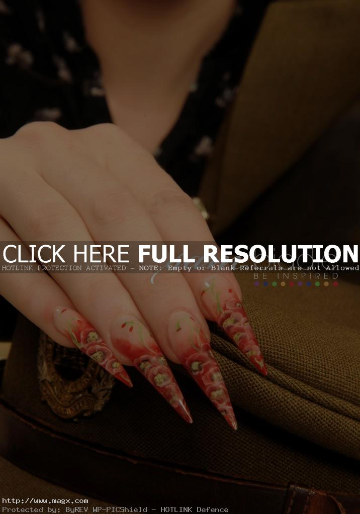 gel nail7 Gel Nails Inspiration by Sam Biddle