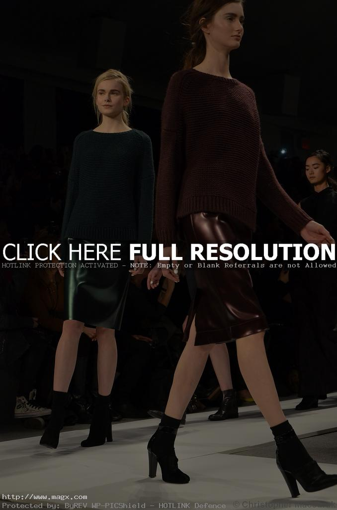 tibi clothing Tibis Fall Winter Trends 2012 at NYFW