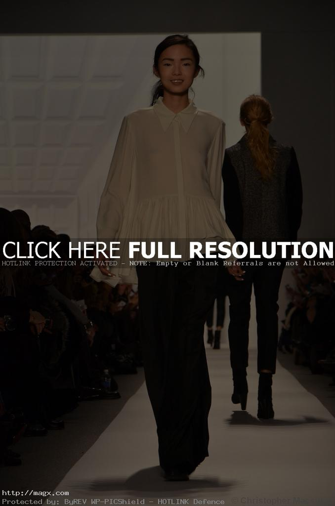 tibi clothing10 Tibis Fall Winter Trends 2012 at NYFW