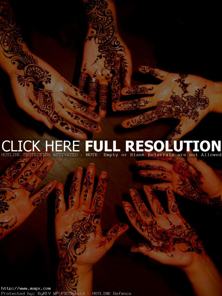 mehndi designs1 Traditional Mehndi Designs