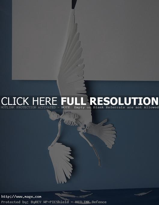 paper cut art1 Amazing Paper Art by Peter Callesen
