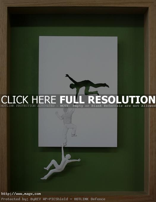 paper cut art6 Amazing Paper Art by Peter Callesen