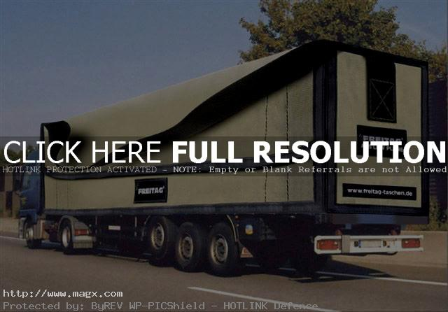 visual illusion3 Painted Optical Truck Illusions