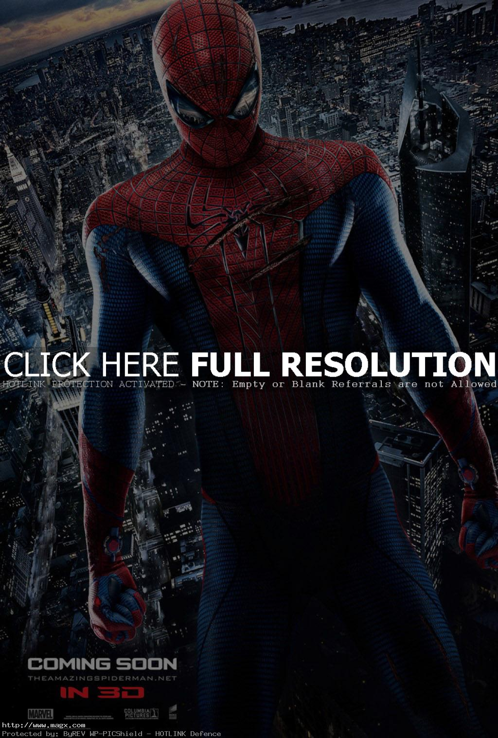 amazing spider man1 The Amazing Spiderman is Back in 3D