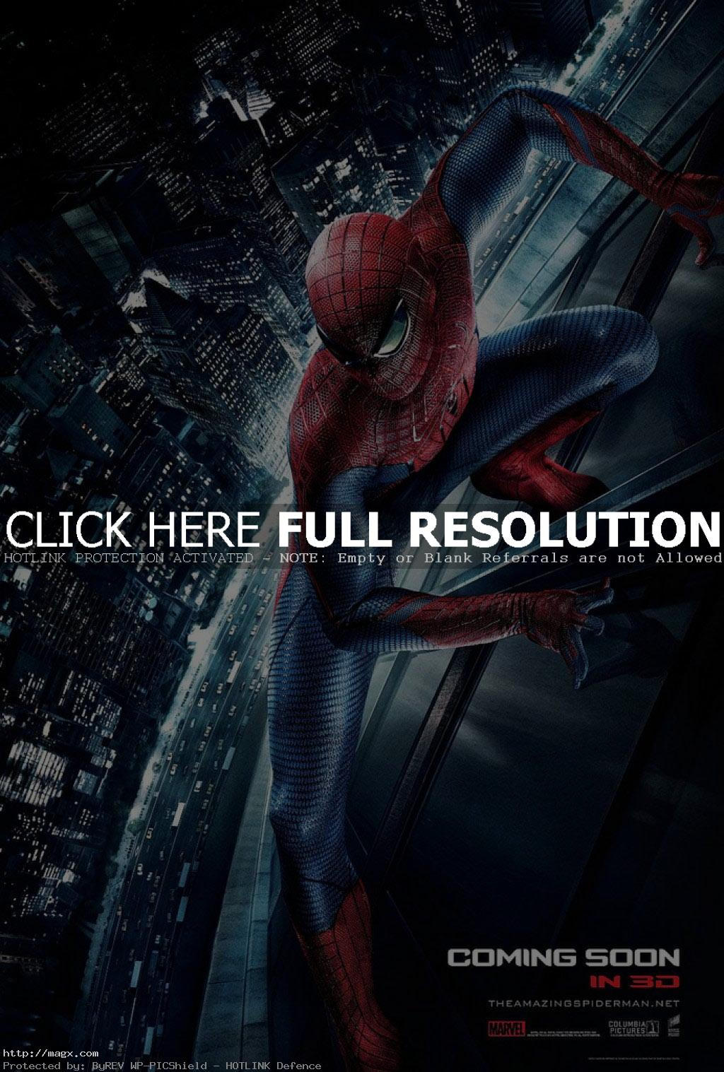 amazing spider man2 The Amazing Spiderman is Back in 3D