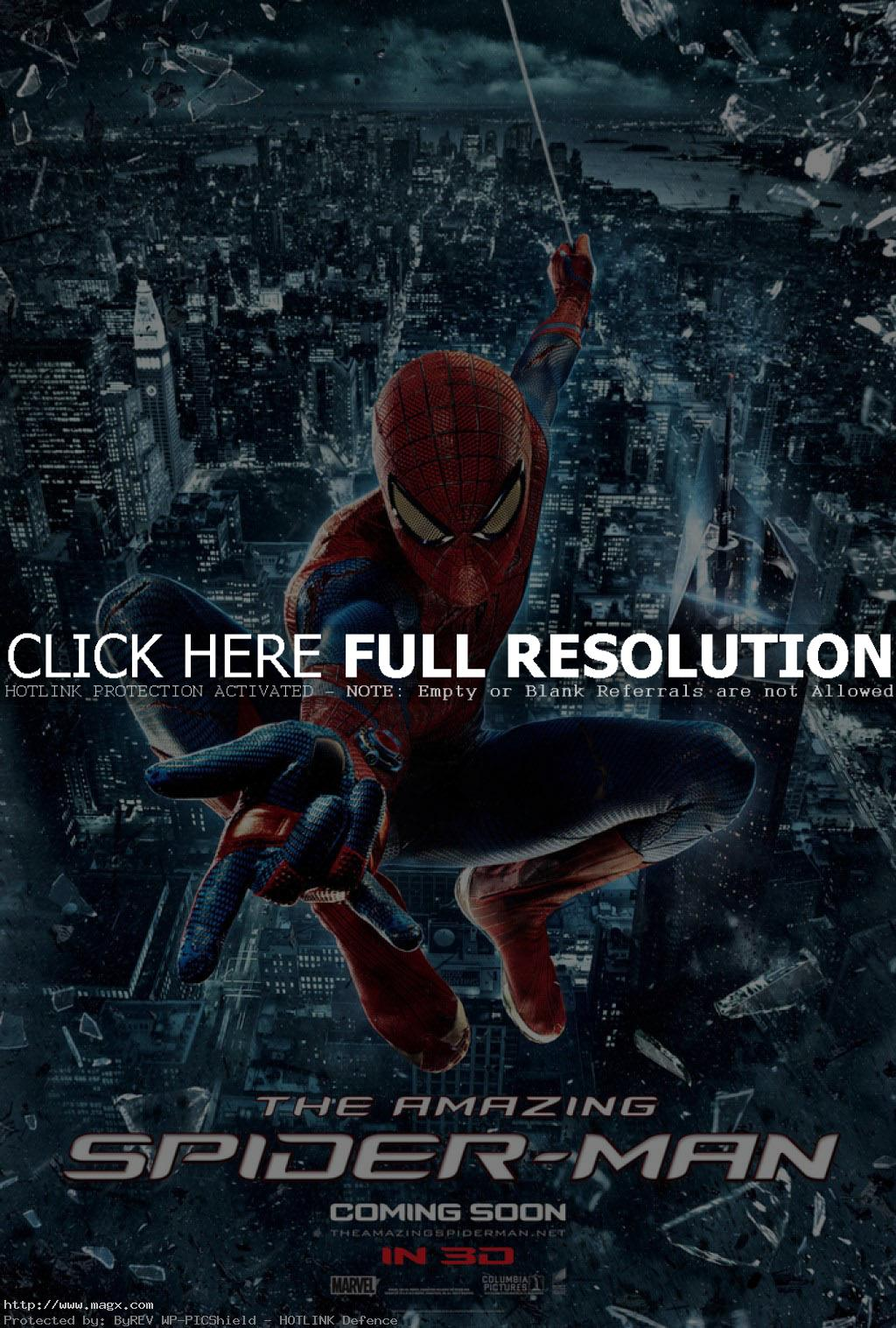 amazing spider man3 The Amazing Spiderman is Back in 3D
