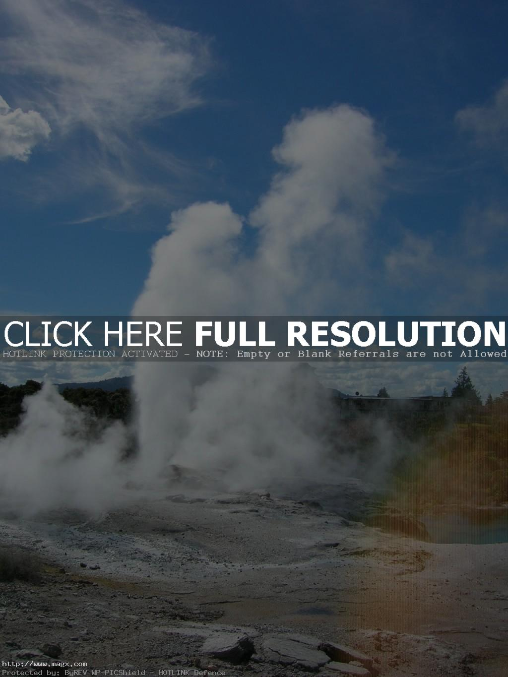te puia3 Geothermal Geyser Te Puia, New Zealand
