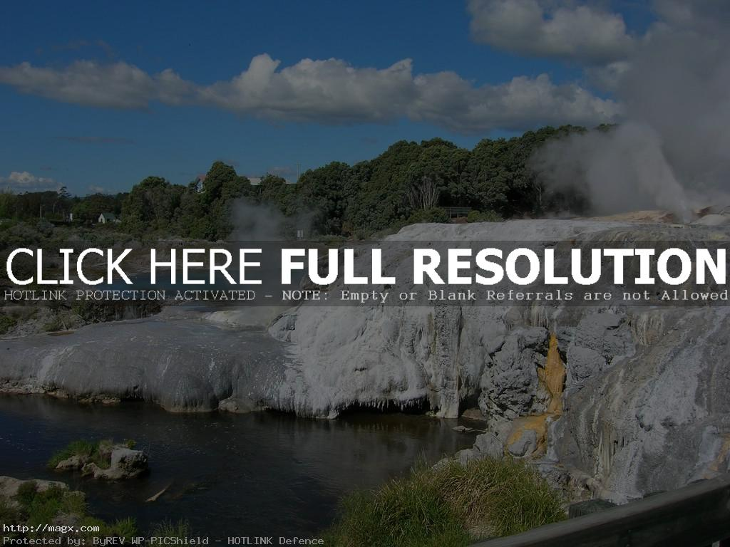 te puia4 Geothermal Geyser Te Puia, New Zealand