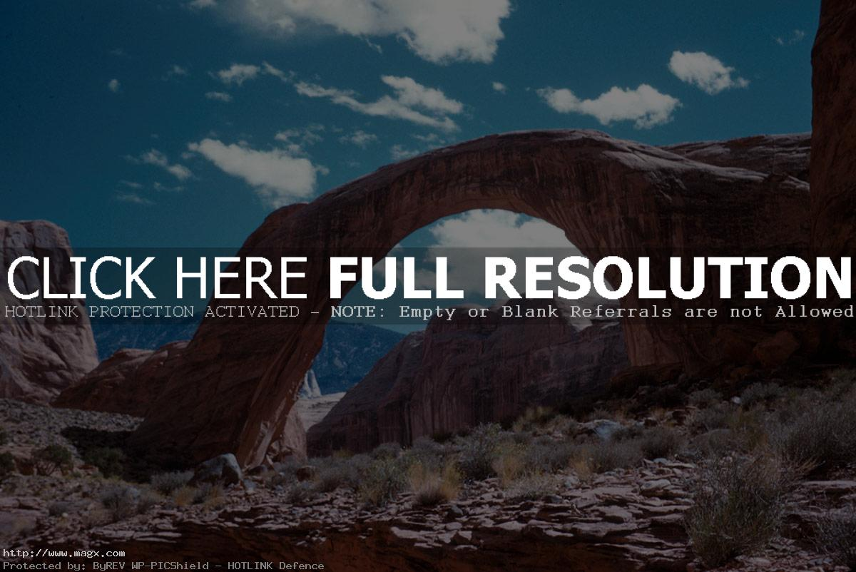 rainbow bridge Natural Rainbow Bridge National Monument