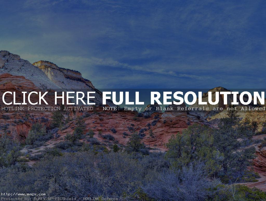 zion national park The Spectacular Zion National Park in Utah
