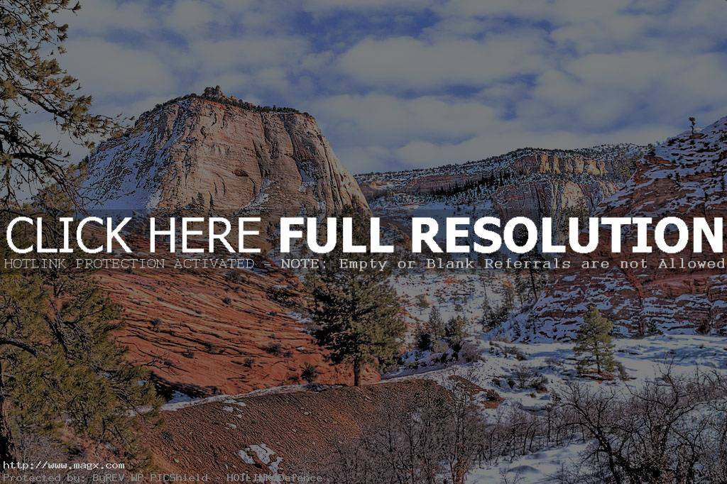 zion national park6 The Spectacular Zion National Park in Utah