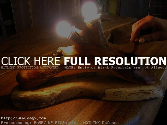 wooden lamp2 Wooden Lamps   Nature Form Furniture