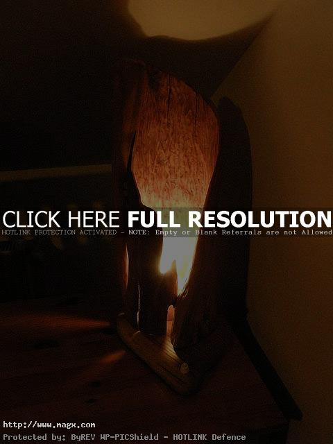 wooden lamp6 Wooden Lamps   Nature Form Furniture
