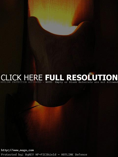 wooden lamp9 Wooden Lamps   Nature Form Furniture