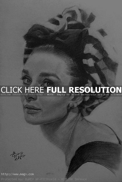 pencil drawings5 Cool Pencil Portrait Drawing