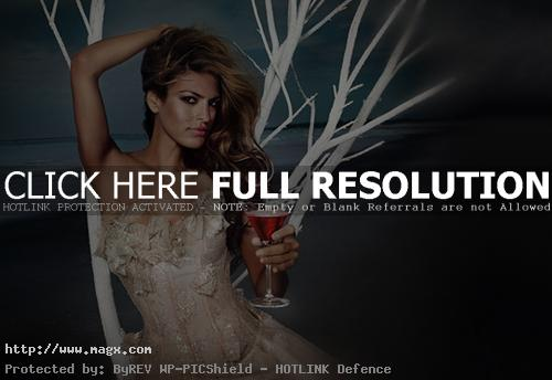 eva mendes pictures6 Eva Mendes Campari Calendar Photoshoot