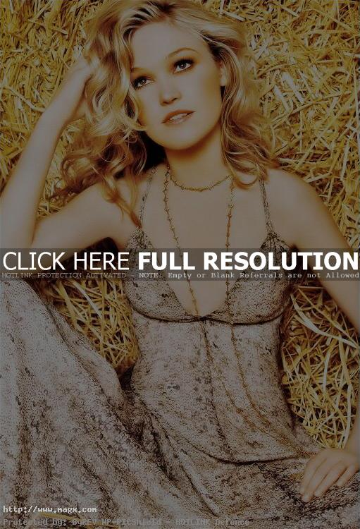 julia stiles Julia Stiles Laying in Hay