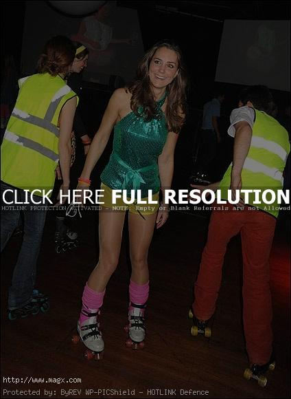 kate middleton Next Queen of England at Roller Disco