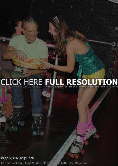 kate middleton3 Next Queen of England at Roller Disco