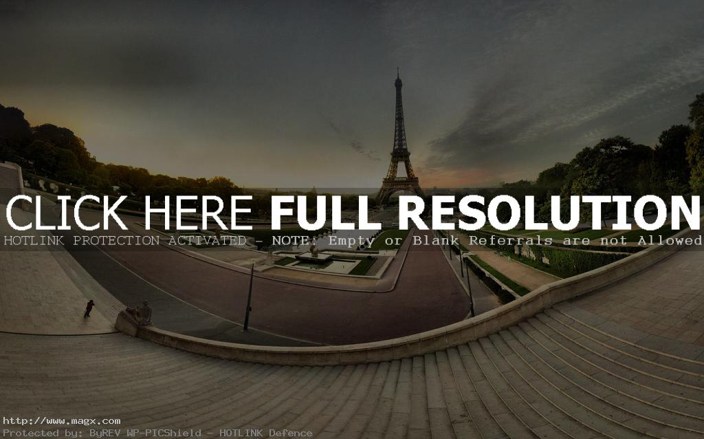 eiffel tower Briliant Set of Eiffel Tower FishEye Photography