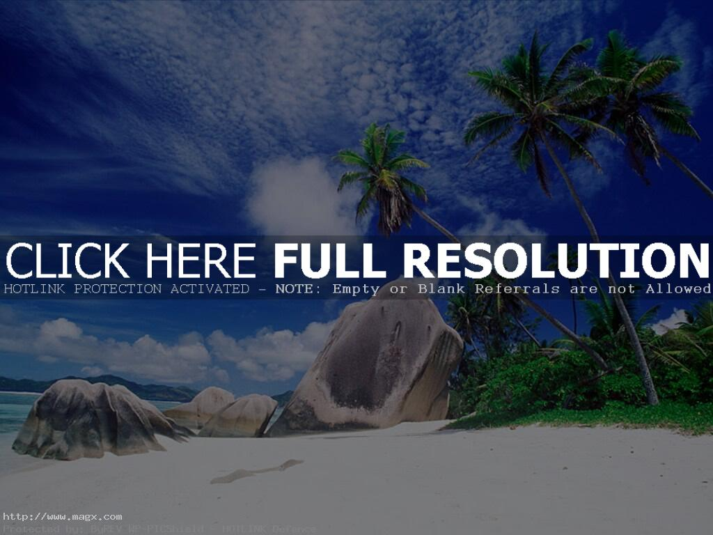 dream beach seychelles Exotic Dream Beach At Seychelles