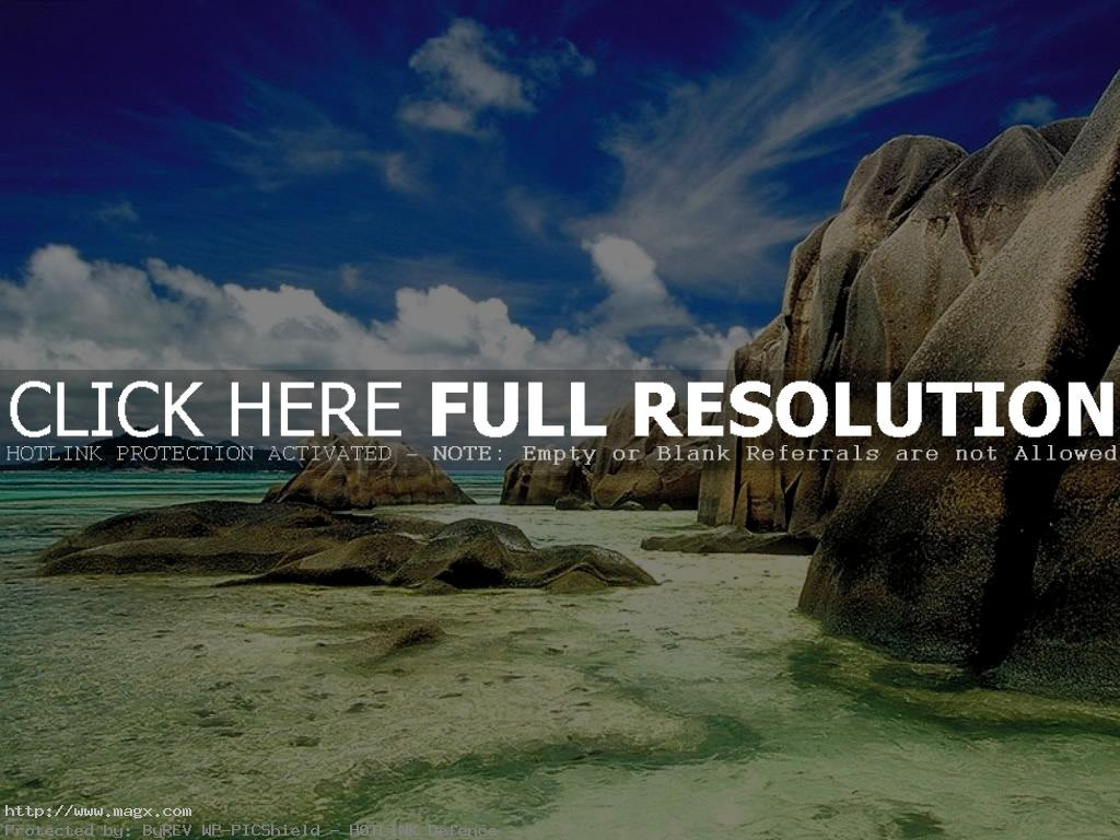 dream beach seychelles2 Exotic Dream Beach At Seychelles