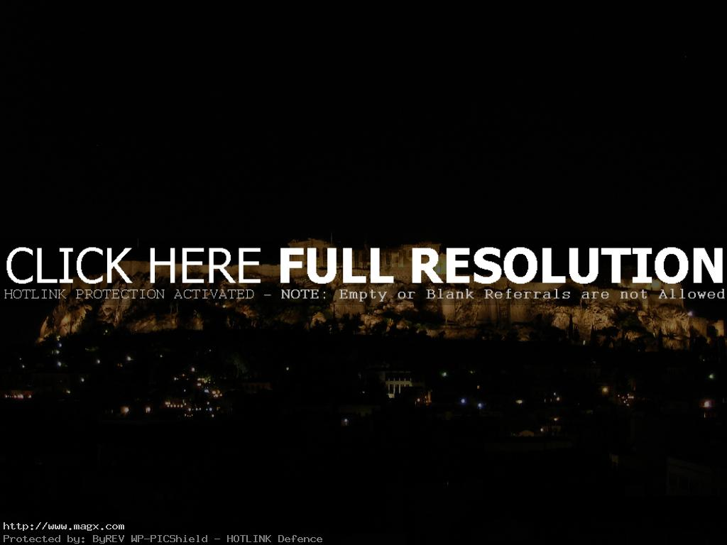 acropolis2 The Greek Acropolis at Night