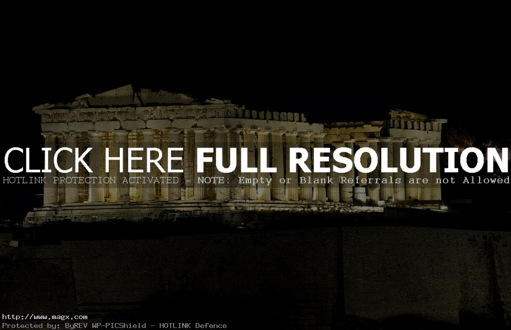 acropolis4 The Greek Acropolis at Night