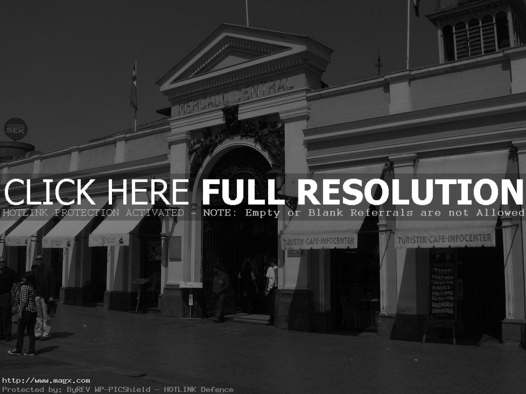 mercado central1 Historic Mercado Central Santiago   Place to visit in Chile