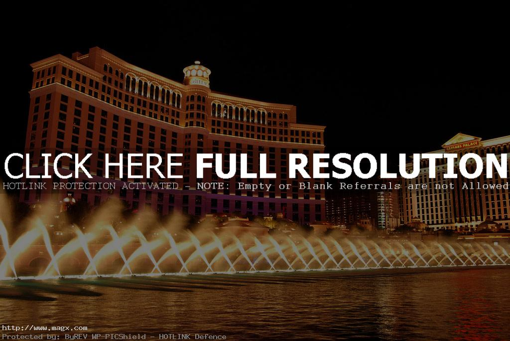 bellagio fountains Incredible Fountains at Bellagio Las Vegas