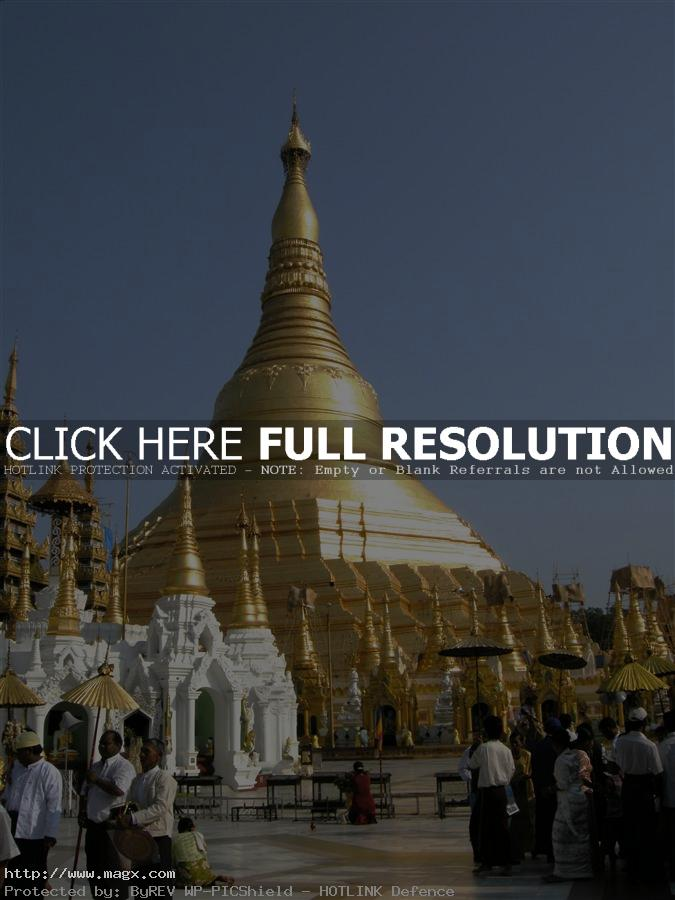 shwedagon pagoda The Magnificent Shwedagon Pagoda