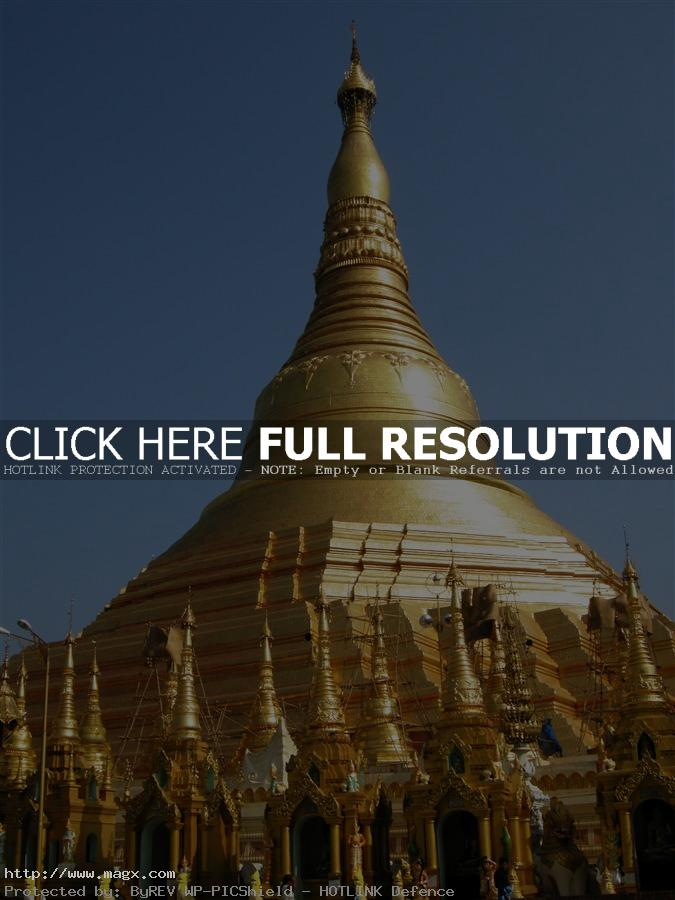 shwedagon pagoda1 The Magnificent Shwedagon Pagoda