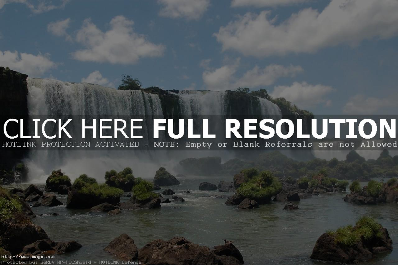 iguassu falls The Most Beautiful Waterfalls of The World   Iguazu Falls, Argentina