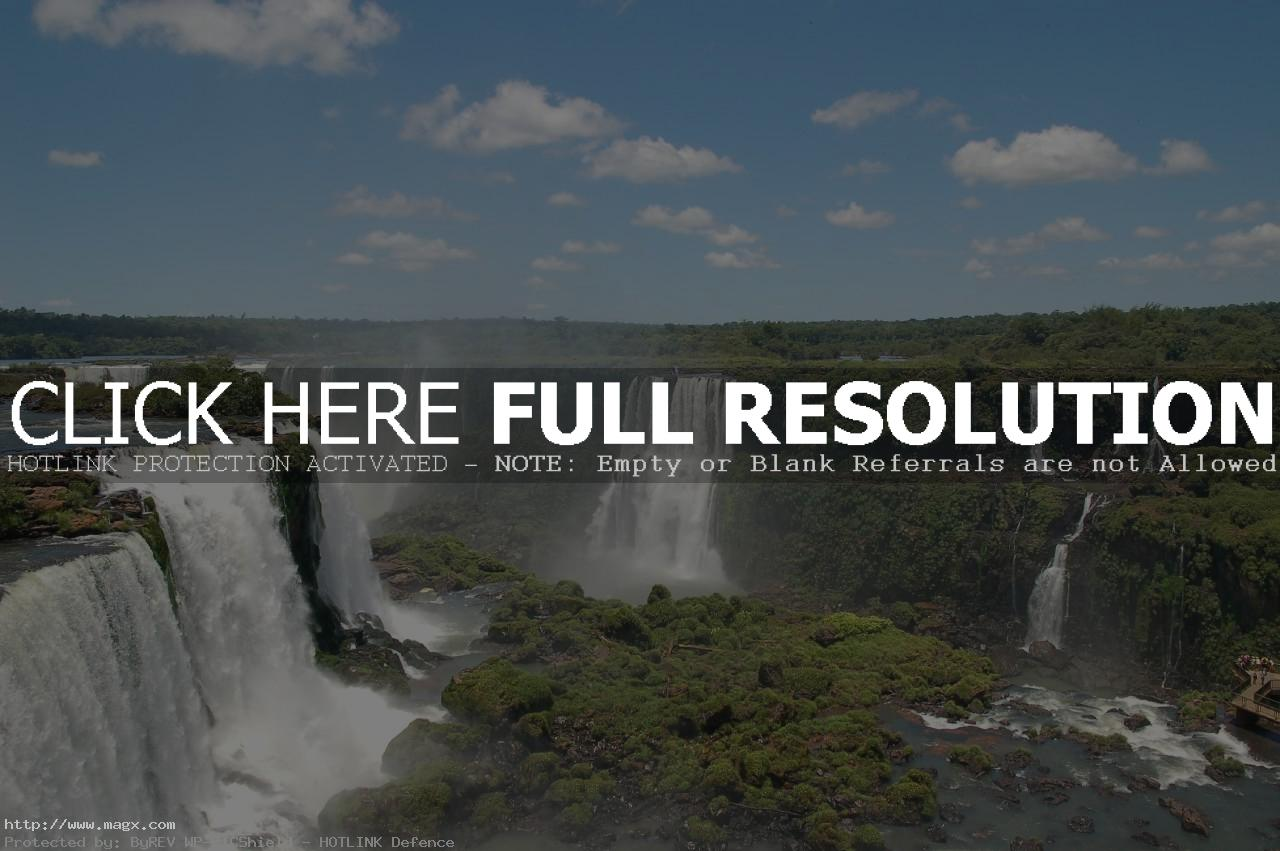 iguassu falls4 The Most Beautiful Waterfalls of The World   Iguazu Falls, Argentina