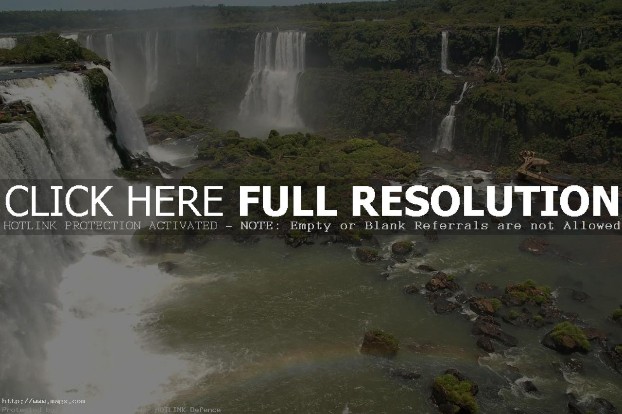 iguassu falls6 The Most Beautiful Waterfalls of The World   Iguazu Falls, Argentina