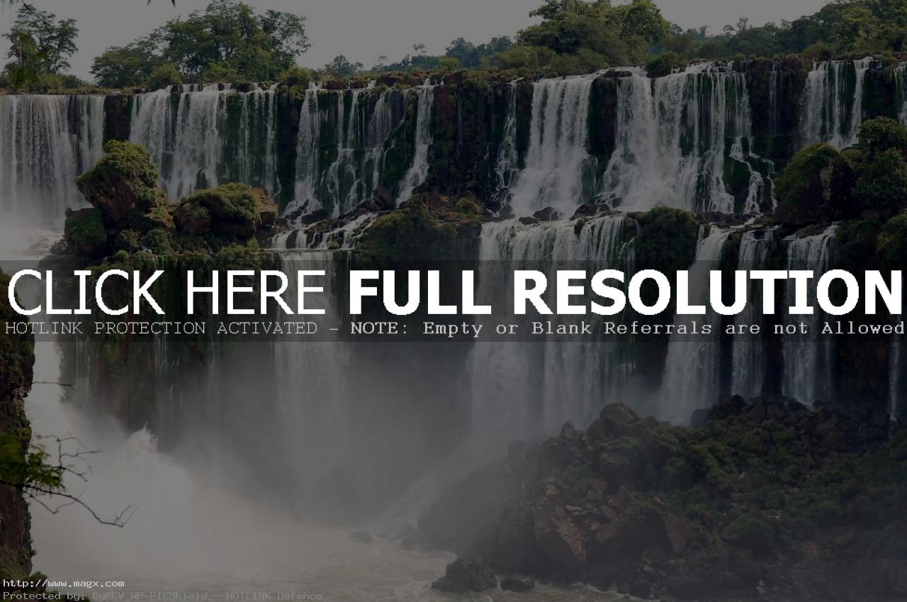 iguassu falls7 The Most Beautiful Waterfalls of The World   Iguazu Falls, Argentina