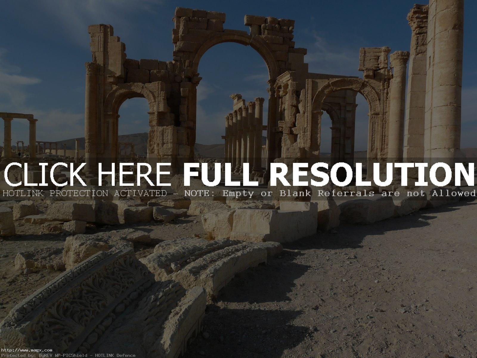 palmyra6 Palmyra before Isis Captured the City