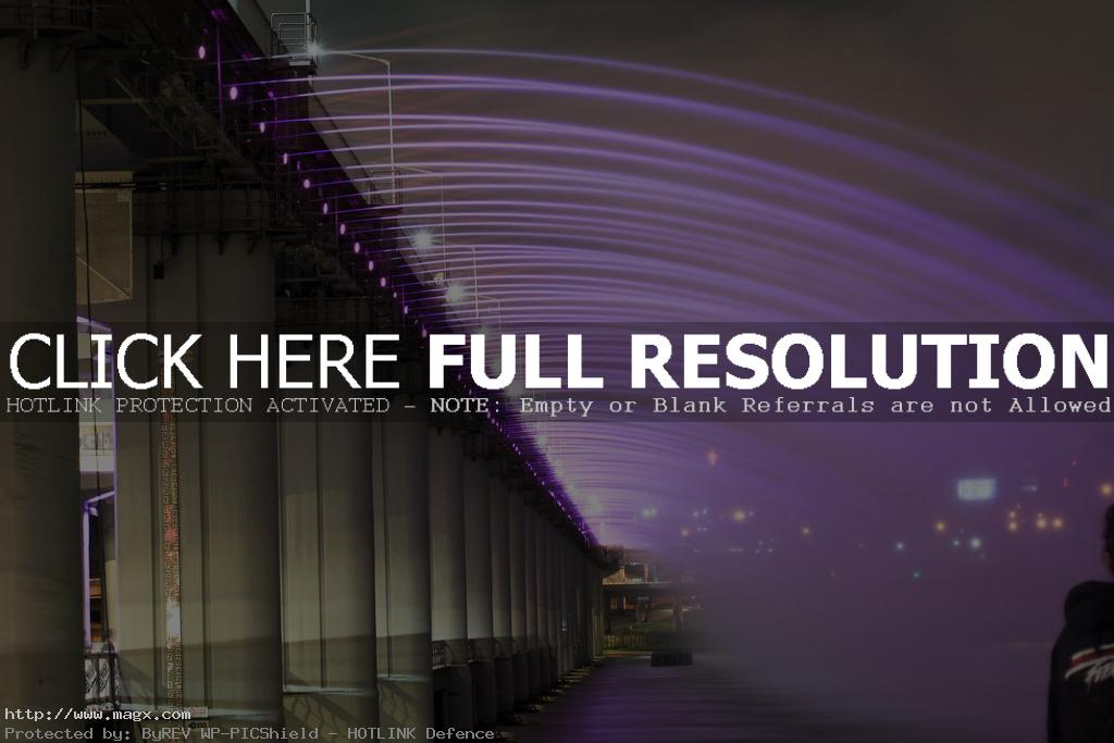 banpo bridge Rainbow Fountain Banpo Bridge in Seoul, South Korea