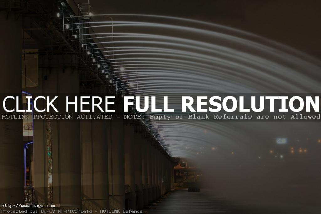 banpo bridge3 Rainbow Fountain Banpo Bridge in Seoul, South Korea