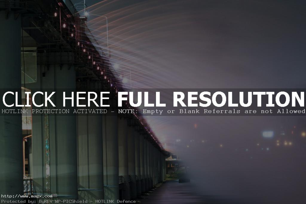 banpo bridge6 Rainbow Fountain Banpo Bridge in Seoul, South Korea