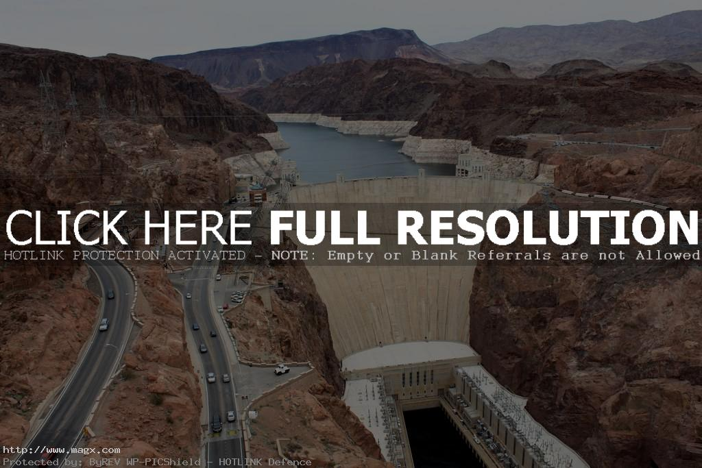 hoover dam Huge Hoover Dam in Las Vegas
