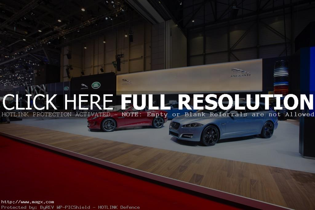 geneva motor show Jaguar at the 83rd International Geneva Motorshow