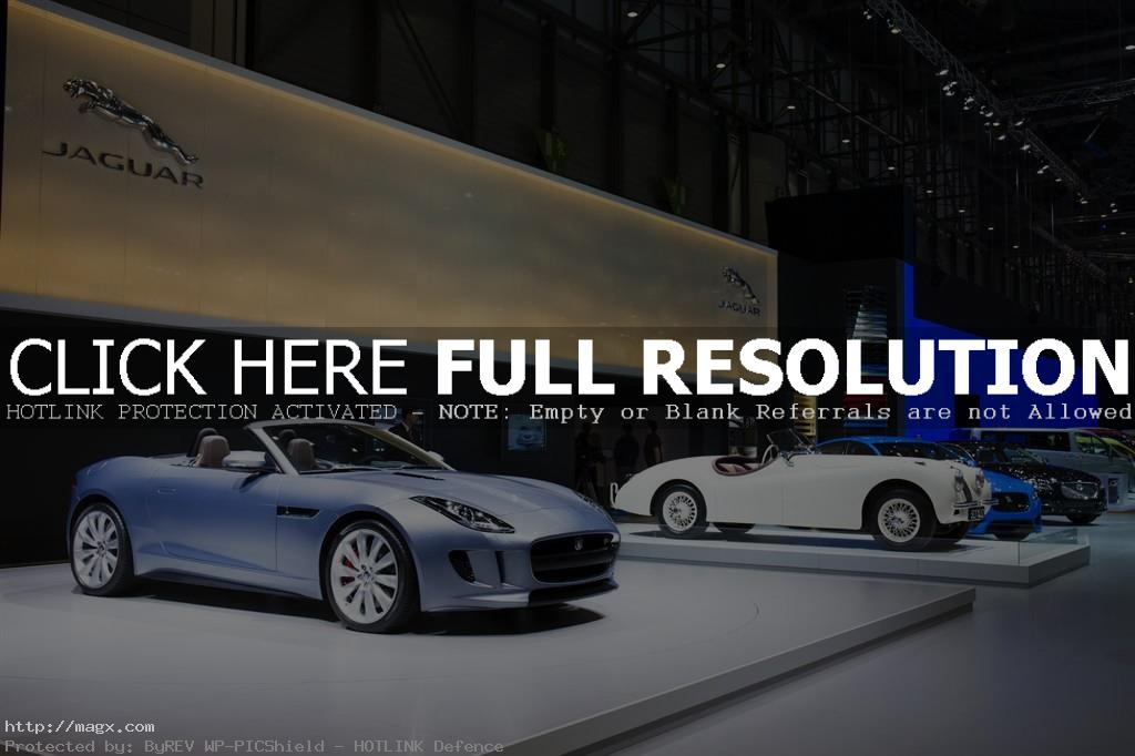 geneva motor show4 Jaguar at the 83rd International Geneva Motorshow