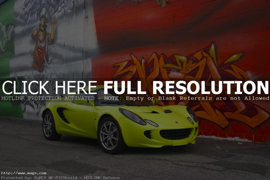 lotus elise Krypton Green Lotus Elise