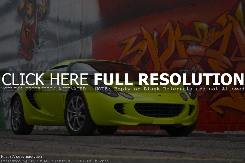 lotus elise1 Krypton Green Lotus Elise