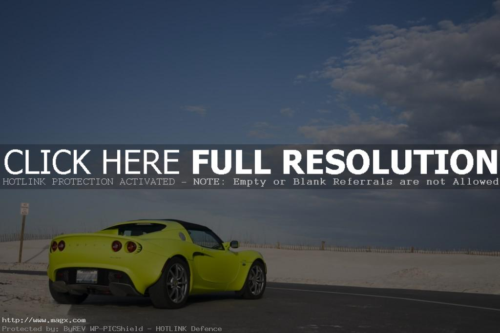 lotus elise10 Krypton Green Lotus Elise